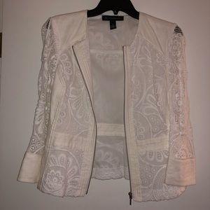 Never worn lace jacket